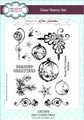 Creative Expressions Inky Christmas Clear Stamp Set by Lisa Horton CEC805 - Pre-Order 15% Off