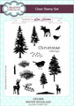 Creative Expressions Winter Woodland Clear Stamp Set by Lisa Horton CEC806 - Pre-Order 15% Off