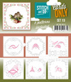 Stitch and Do Card Stitching Cardlayers Only - Set 19