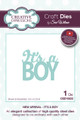 Sue Wilson - New Arrival Collection - It's A Boy Dies CED10022 - 15% Off