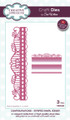 Sue Wilson - Configurations Collection - Striped Swirl Edger Die CED6408 - Pre-Order 15% Off