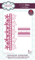 Sue Wilson - Configurations Collection - Blossom Edger Die CED6410 - Pre-Order 15% Off