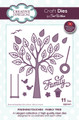 Sue Wilson Finishing Touches  Family Tree CED1471 - 15% Off Pre-Order