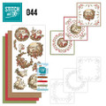 Stitch and Do 44 - Card Embroidery Kit - Holly Jolly Mix