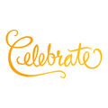 Classic Sentiments Hotfoil Stamp - Celebrate