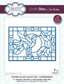 Sue Wilson Stained Glass Collection Dies - Hummingbird CED24001