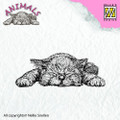 Nellie Snellen Animals Stamp Kitten ANI009