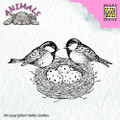Nellie Snellen Animals Stamp Birdsnest ANI013