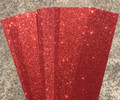 Glitter Card  A4 (210 x 297mm) - RED Pack of 4