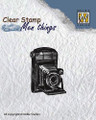 Nellie Snellen Clear Stamp Mens Things - CAMERA  CSMT001