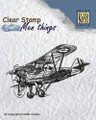 Nellie Snellen Clear Stamp Mens Things - AEROPLANE  CSMT004