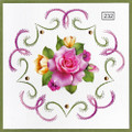 Laura's Design Card Stitching Pattern LD232