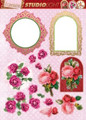 3D Die-Cut Studiolight Flowers & Frames 2