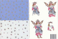 3D Cutting Sheet - Faerie Poppets 16