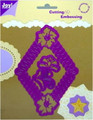 Joy! Crafts Cutting & Embossing Stencil - Diamond Flower 34