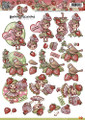 3D Sheet Yvonne Creations - Strawberry Girl  CD10221