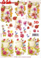 3D Sheet Le Suh - Flower Notes  777143