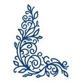 Tattered Lace Die  - Detailed Flourish  D218