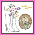 Karin's Creations Card Stitching e-Pattern - KC147e