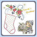 Karin's Creations Card Stitching e-Pattern - KC148e