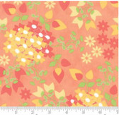 Corey Yoder  Little Miss Shabby - Sundrops - Floral Bouquet Peach/Coral