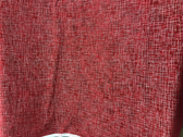 Robert Kaufman - Quilter Linen Red Metallic