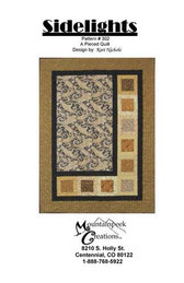Mountainpeek Creations - Sidelights Quilt #302