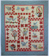Cheri Leffler Designs - A Feathered Family Quilt