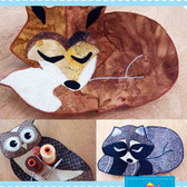 Poorhouse Quilt Designs - Forest Friends Bowls