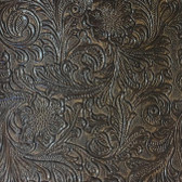 Faux Leather Tooled Vinyl - Monteray Mink
