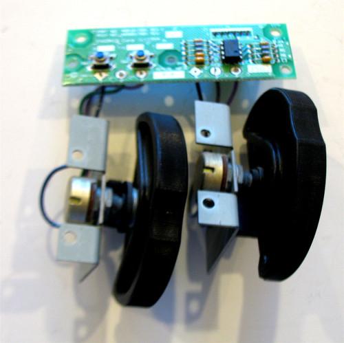 Ensoniq ASR-10/TS-10/TS-12 Pitch Bend/Mod Wheel Assembly