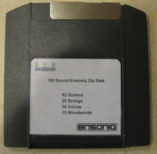 Ensoniq ASR-10 Zip Disk With 160 Sounds