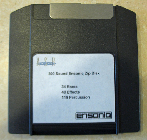 Ensoniq ASR-10 Zip Disk With 200 Sounds