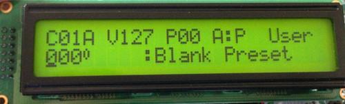 E-mu Proteus PK-6 LCD Display