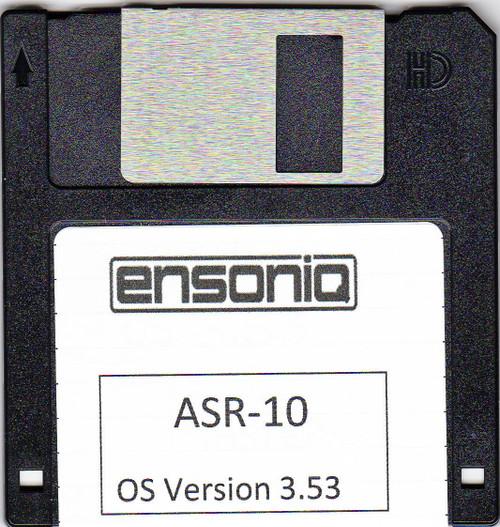Ensoniq ASR 10 Operating System Disk v 3.53 OS boot