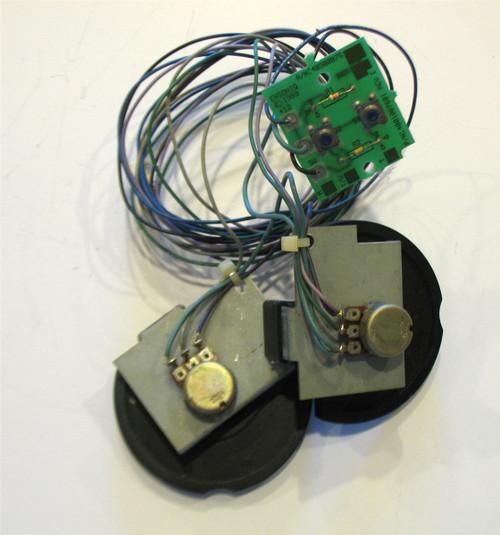 Ensoniq VFX Pitch/Mod Wheel/Patch Select assembly