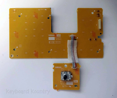 Yamaha DGX-660 Right Panel (PNR) with Attached Encoder Board