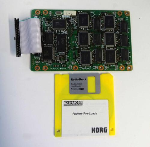 Korg KLM-2076 EXB Moss for Triton & Karma series Keyboards