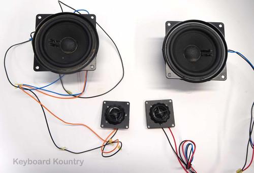 Woofer/Tweeter Speaker Set for Korg PA-80