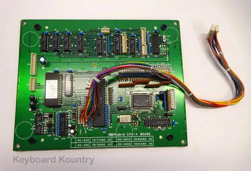 Roland RD-200, 300, 250s, 300s CPU-A Board