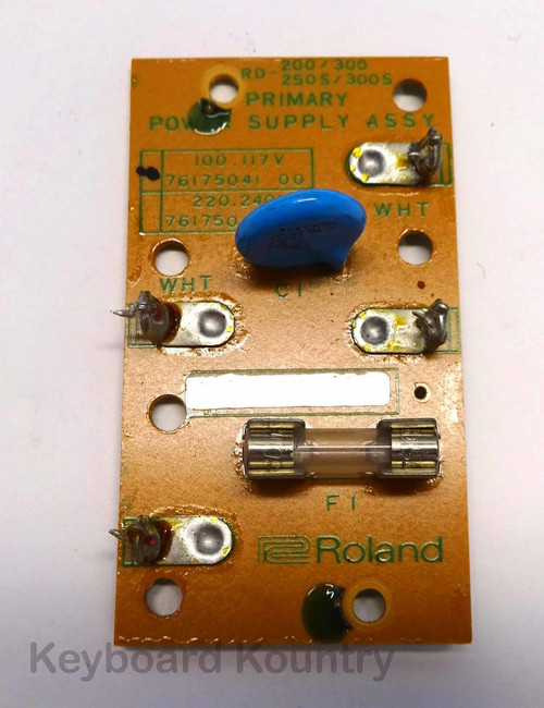 Roland RD-300s Primary Power Supply