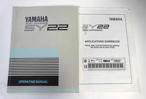 Yamaha SY22 Operating Manual & Applications Guidebook