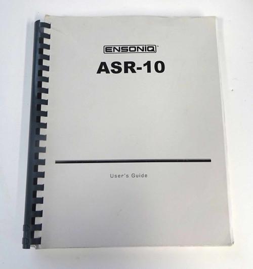 Ensoniq ASR-10 Users Guide