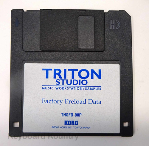 Korg Triton Studio Factory Preload Data Disk