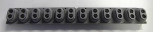 Casio CTK-3200 12 Note Rubber Key Contact Strip
