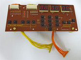 Panel/Display Board for Korg Poly-800 synthesizer (KLM-597)