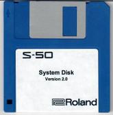 Roland S-50 System Startup Disk V2.0