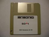 Ensoniq SD-1 Operating System Disk v 4.10 OS boot