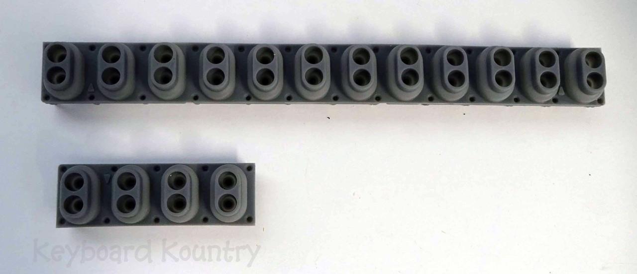 Yamaha ypg 625 635 dgx 600 series rubber key contact strip for Yamaha dgx 630 ypg 635