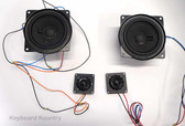 Woofer/Tweeter Speaker Set for Korg PA-80